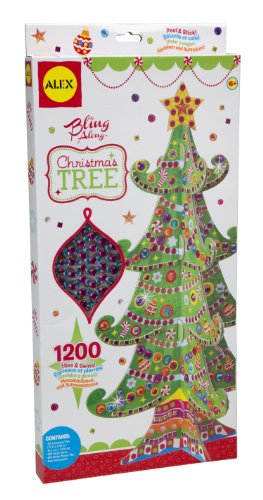 ALEX Toys Craft Bling Along Christmas Tree (Mosaic Tree Christmas)