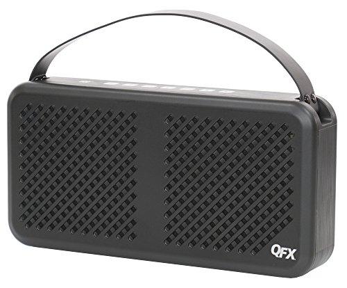 QFX E-10 Elite Series Bluetooth Speaker - Black