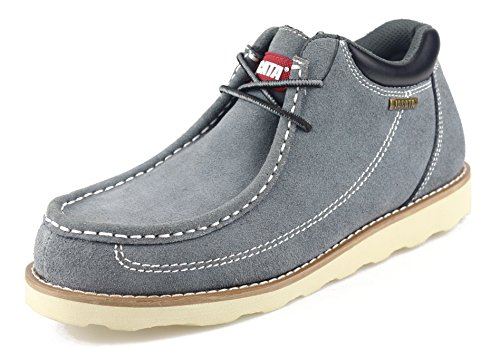 Jacata Men's Classy Fashion On The Go Driving Casual Loafers Boat shoes by NYC Tough Boot Company (9.5, Grey)