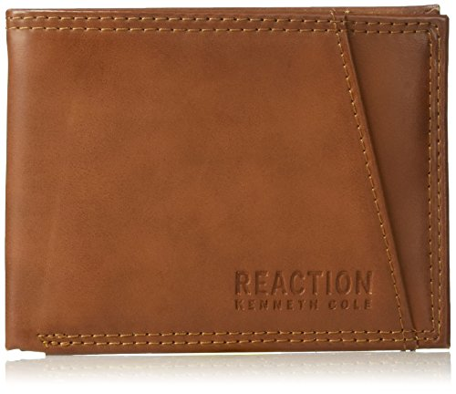 Kenneth Cole Genuine Wallet - Kenneth Cole REACTION Men's Rfid Blocking Slim Billfold Security Wallet
