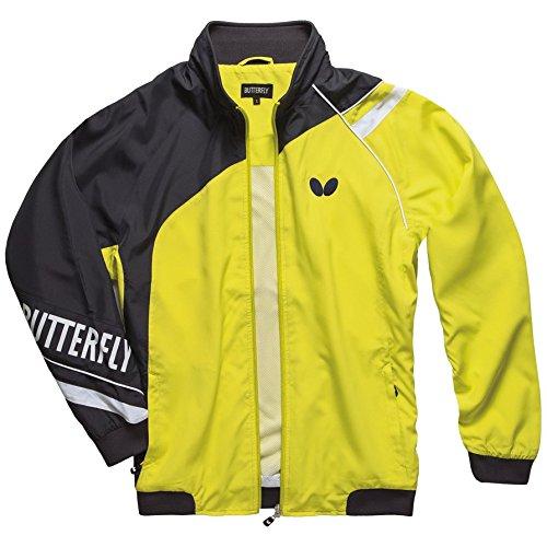 バタフライテーブルテニスTaoriトラックスーツ Large Lime Jacket B0788VLK33