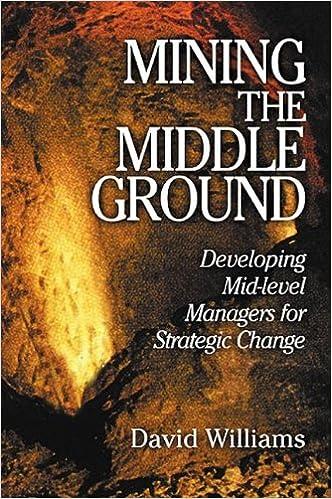 Mining the Middle Ground: разработка менеджеров среднего звена для стратегических изменений