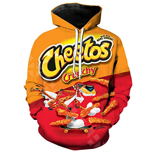 Cheeto Costumes For Sale - NEWBXSBDS Funny Cheetos Cartoon Hoodie Summer
