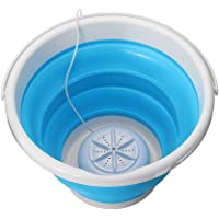 APROTII Turbine Washing Machine Automatic Electric Clothes Washer With 10L Folding Barrel USB Portable Mini Laundry…