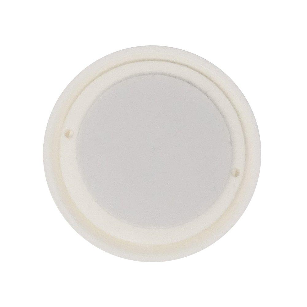 Butoir de porte/ Protection murale autocollant ou /à clouer//Vis /Amortisseur de porte /Ø 40/mm et 60/mm /Tampon murale/ Blanc SBS Lot de 10/butoirs de porte
