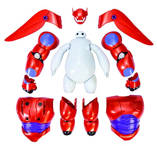 [Big Hero 6 Armor-Up Baymax Action Figure] (Disney Group Costumes Ideas)