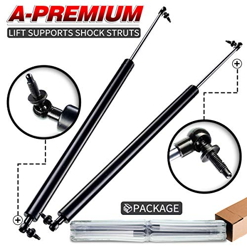 (A-Premium Tailgate Rear Hatch Lift Supports Shock Struts for Chrysler Town&Country 1991-1995 Dodge Caravan GrandCaravan VoyagerWithRearWiperorStereo 2-PC Set)