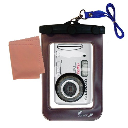 Lightweight Underwater Camera Bag suitable for the Olympus Camedia D-435 Waterproof Protection by Gomadic