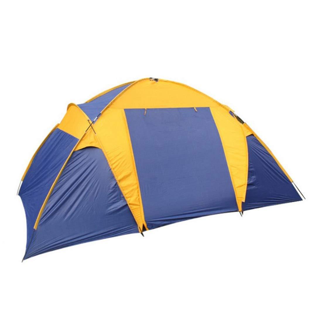 CUBCBIIS 屋外ツアー用の超軽量の1人用テント、二重防雨 (サイズ : 5-8P) 5-8P  B07N43Z4VC