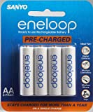Sanyo Eneloop AA NiMH Pre-Charged Rechargeable Batteries - 8 Pack (Discontinued by Manufacturer)
