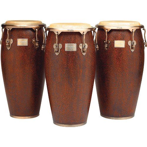Tycoon Percussion 10 Inch Master Antique Series Requinto With Single Stand by Tycoon Percussion