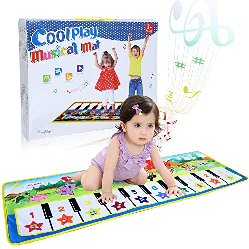 Learn More About Music Piano Mat, SUPTEMPO Keyboard Playmat Kids Musical Mats Portable&Safe Musical ...