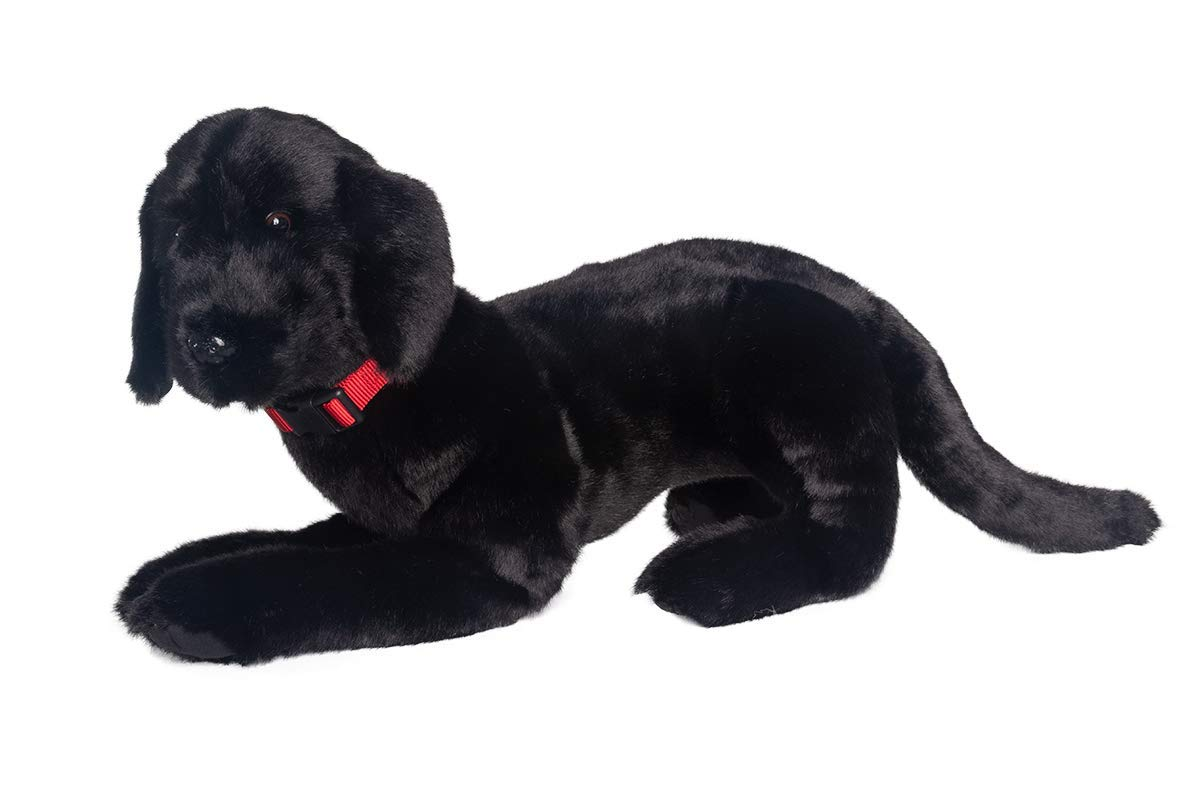 Ditz Designs Realistic Stuffed Animal Black Lab Best Friend 26'' by Ditz Designs
