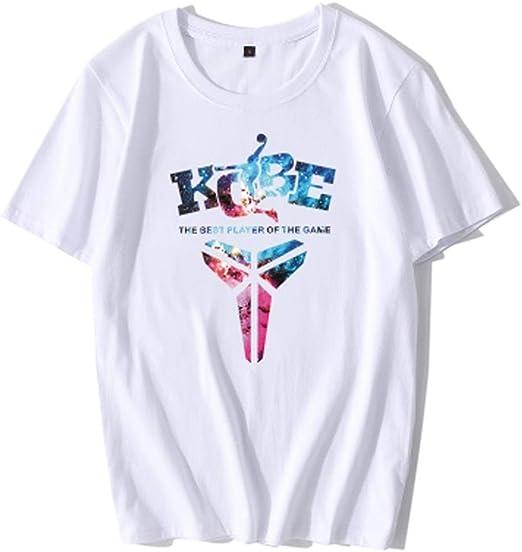 YYHSND Camiseta de Manga Corta de Verano de los Hombres de algodón ...