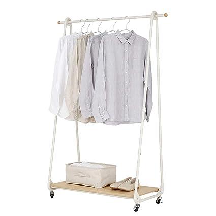 Amazonde Garderoben Stehend Einfache Weiße Kleiderständer