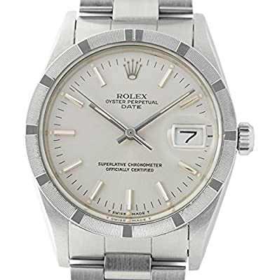 Rolex Oyster Perpetual automatic-self-wind mens Watch 15010 (Certified Pre-owned) by Rolex