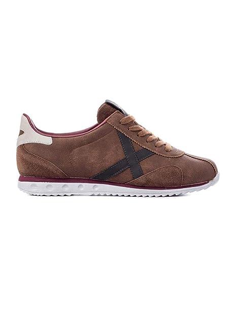 Zapatilla Hombre Munich Sapporo 30 Brown Black: Amazon.es: Zapatos y complementos