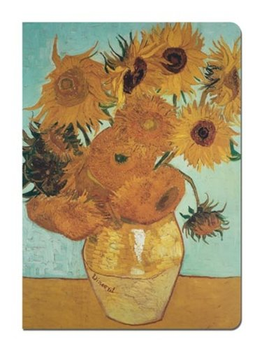 - Tree-Free Greetings Journal, 160 Ruled Pages, Recycled, 5.5 x 7.5 Inches, Van Gogh Sunflowers, Multi Color (72113)