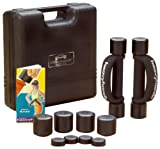 Heavyhands 1-2-3-Pound  Multi-Pac Black heavyhands with Carry/Storage Case