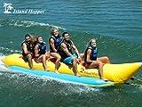 Island Hopper 5 Passenger Inline Elite Class Heavy Recreational Banana Boat Towable Boat Tube