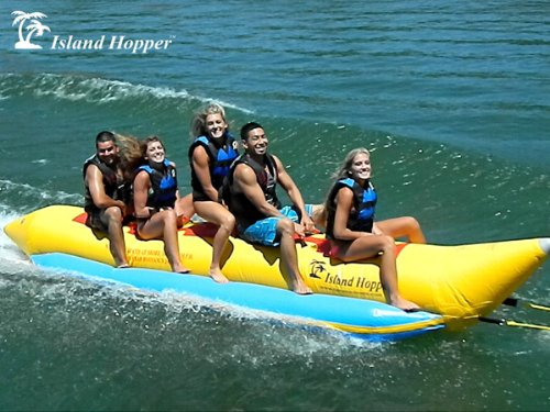 Island Hopper 5 Passenger Inline Elite Class Heavy Recreational Banana Boat Towable Tube