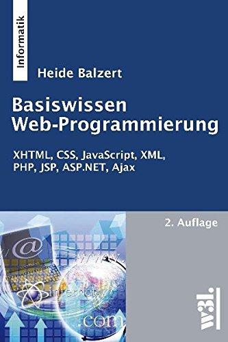 Basiswissen Web-Programmierung, 2. Auflage