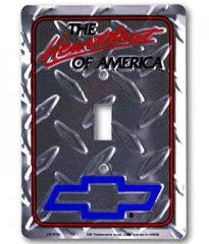 Chevrolet Diamond Plate Light Switch Cover Dixie Seal And Stamp