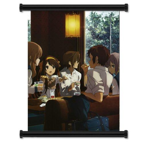 (Disappearance of Haruhi Suzumiya Fabric Wall Scroll Poster (16