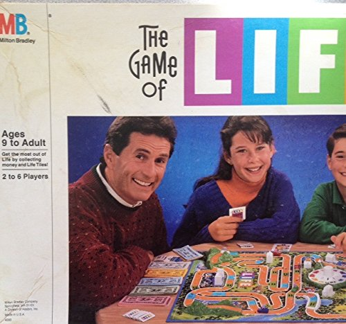 The Game of Life Board Game (1991 Edition) by Milton Bradley