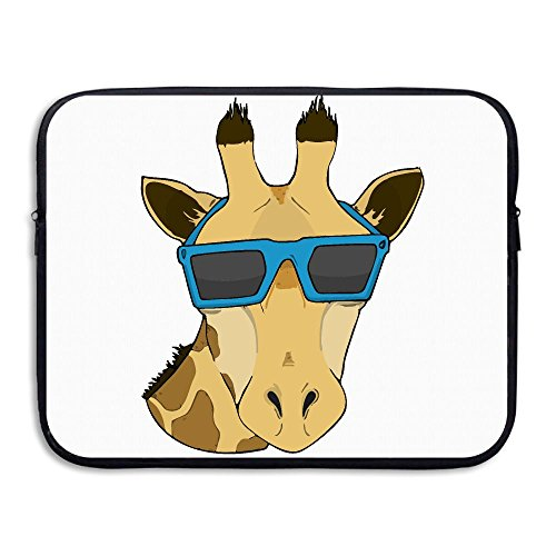 Laptop Sleeve Case Protective Bag Giraffe With Sunglasses Art Printed Ultrabook Briefcase Sleeve Bags Cover For 15 Inch Macbook Pro/Notebook/Acer/Asus/Lenovo - Designer Online Buy India Sunglasses