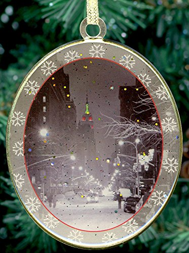 amazon com new york city christmas ornament empire state building