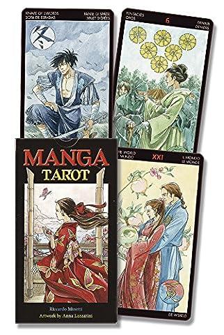Manga Tarot (English and Spanish Edition) (Spanish Cards Tarot)