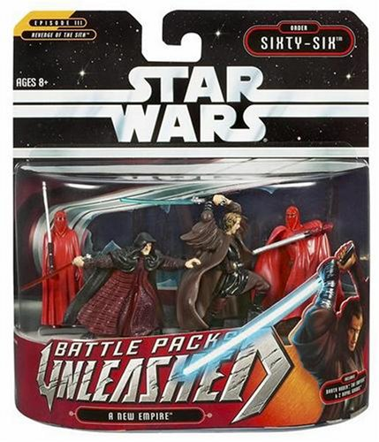 Star Wars Unleashed Battle 4 Pack New Empire Pack