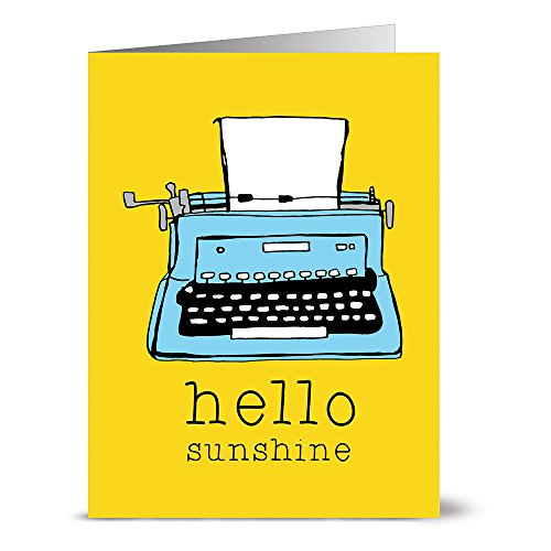 24 Note Cards - Hello Sunshine - Blank Cards - Yellow Envelopes ()