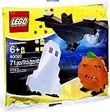 LEGO Seasonal Halloween Mini Figure Set #40020 Ghost, Pumpkin Bat Bagged