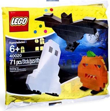 LEGO Seasonal Halloween Mini Figure Set #40020 Ghost,