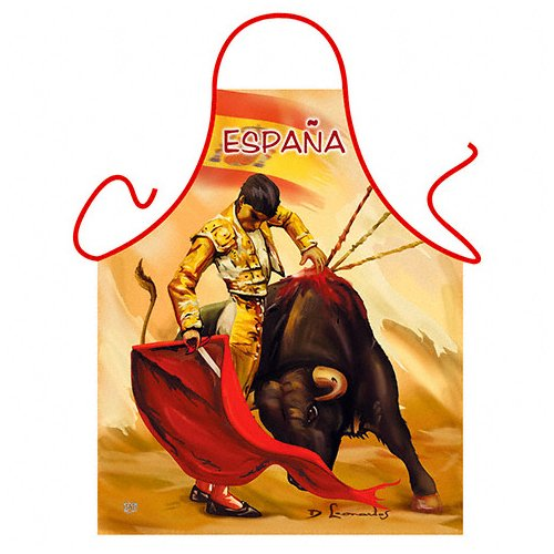 ''España'' - Kitchen Apron - 100% Polyester by ITATI