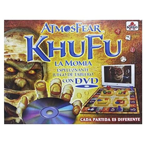 Educa Borrás Khufu DVD: Amazon.es: Juguetes y juegos