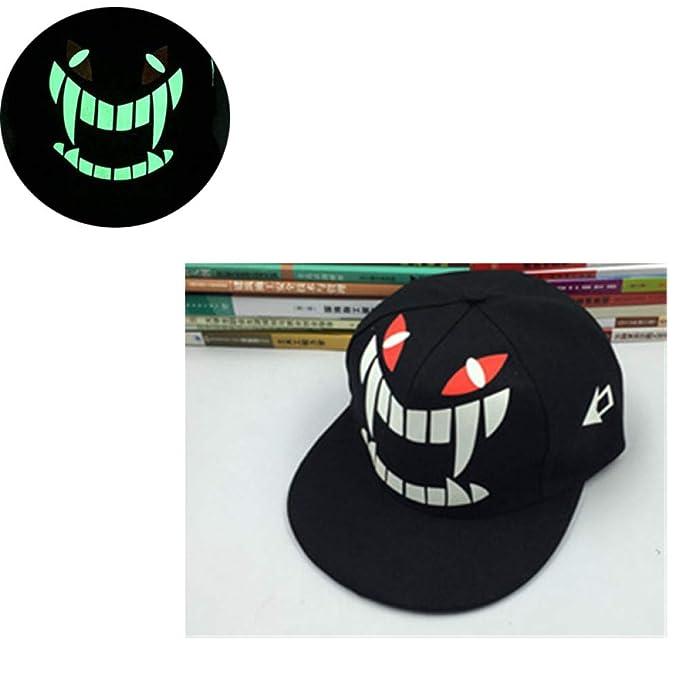 FHSOHG Sombrero de Fluorescencia para Hombre Graffiti Monster ...