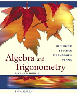 Algebra and trigonometry graphs and models books a la carte algebra and trigonometry graphs and models fandeluxe Gallery