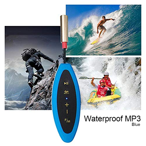 Hainter mp3 Player Sports MP3 Player Lossless Sound Quality IPX8 Waterproof Walkman Mini MP3 Player by Hainter (Image #2)