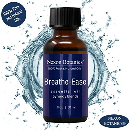 Breathe Ease Essential Oil Synergy Blend - 100% Pure and Natural Therapeutic Grade Blends from Eucalyptus, Rosemary, Peppermint and Niaouli Oils - Best Aromatherapy Breathing from Nexon Botanics(30ml) by Nexon Botanics (Image #5)