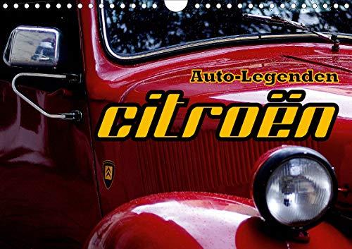 Auto-Legenden: Citroen (Wandkalender 2020 DIN A4 quer): Oldtimer von Citroen in Havanna (Monatskalender, 14 Seiten ) by Henning von Löwis of Menar