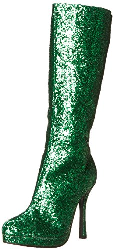 Ellie Shoes Women's 421-Zara Boot, Green, 9 M US