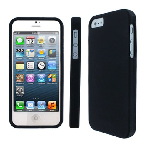 EMPIRE MPERO iPhone SE/iPhone 5, 5S Case, SNAPZ 2-piece Protective Hard Shell Cover, Black