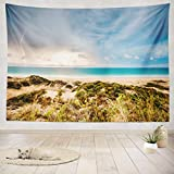 electric broome - ASOCO Tapestry Wall Handing Thunderstorm Cable Beach Western Australia Beach Western Australia Cable Wall Tapestry for Bedroom Living Room Tablecloth Dorm 60X80 Inches