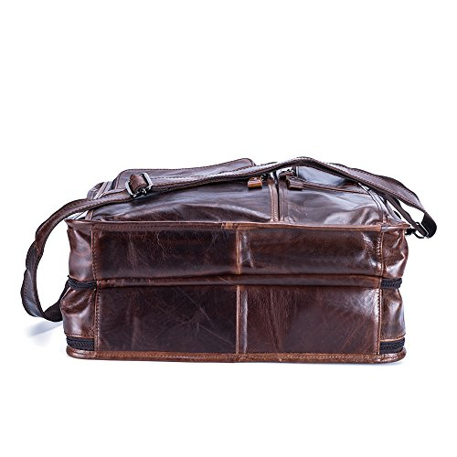 JOYIR - Bolso bandolera  Hombre, Coffee Color (marrón) - B307 Brown Color