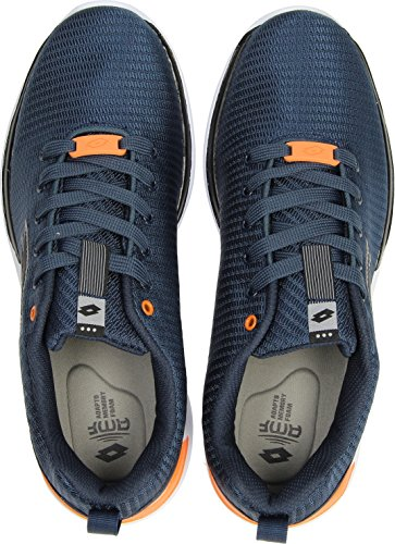 Lotto Men's Cityride Why AMF Fitness Shoes Blue (Nvy Dk/Blk 020) wqnEcSrNrs