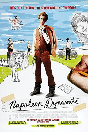Image result for napoleon dynamite poster