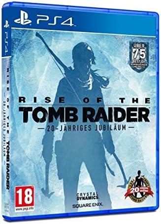 Rise of the Tomb Raider 20-Jähriges Jubiläum D1 Edition (PS4 ...